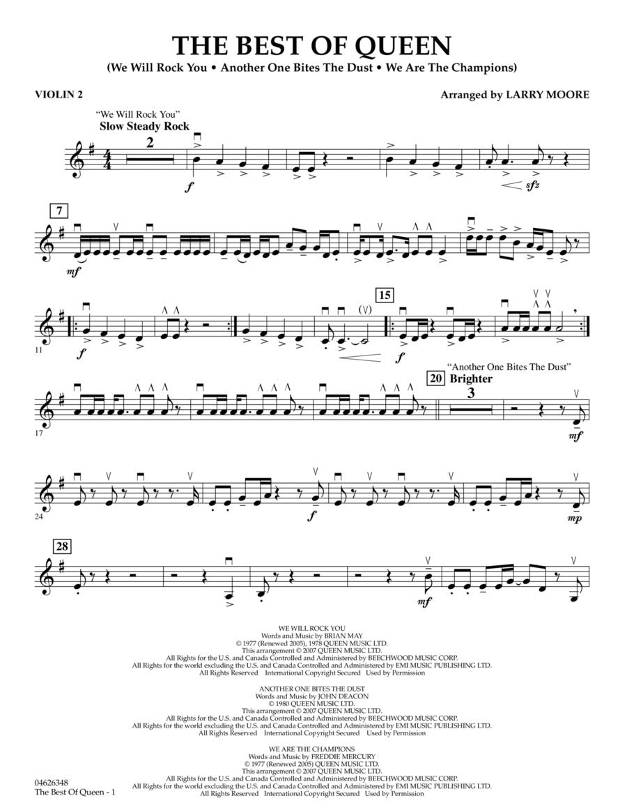 The Best of Queen - Violin 2