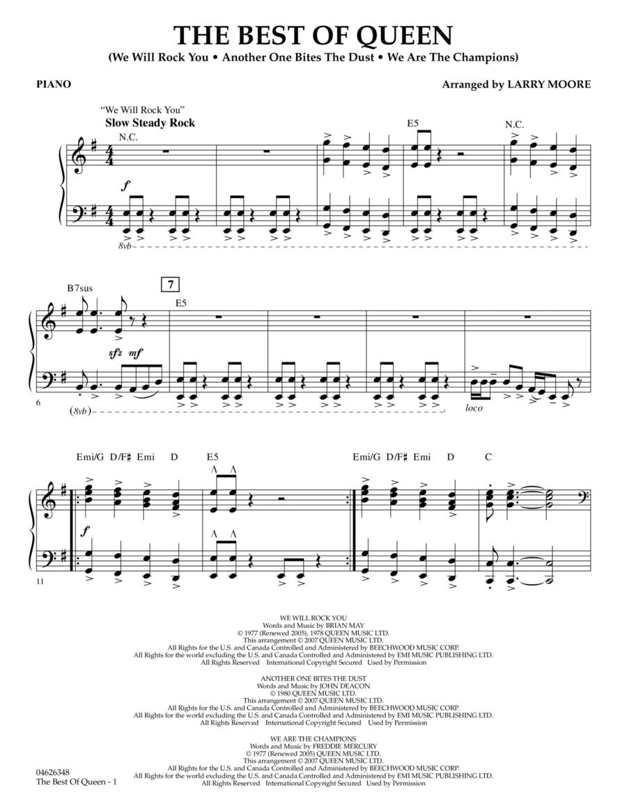 The Best of Queen - Piano