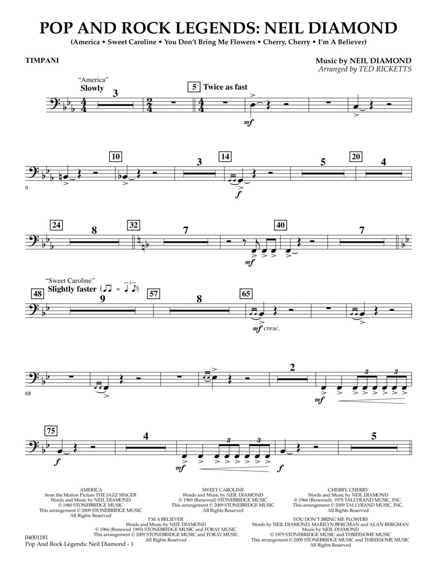 Pop and Rock Legends - Neil Diamond - Timpani