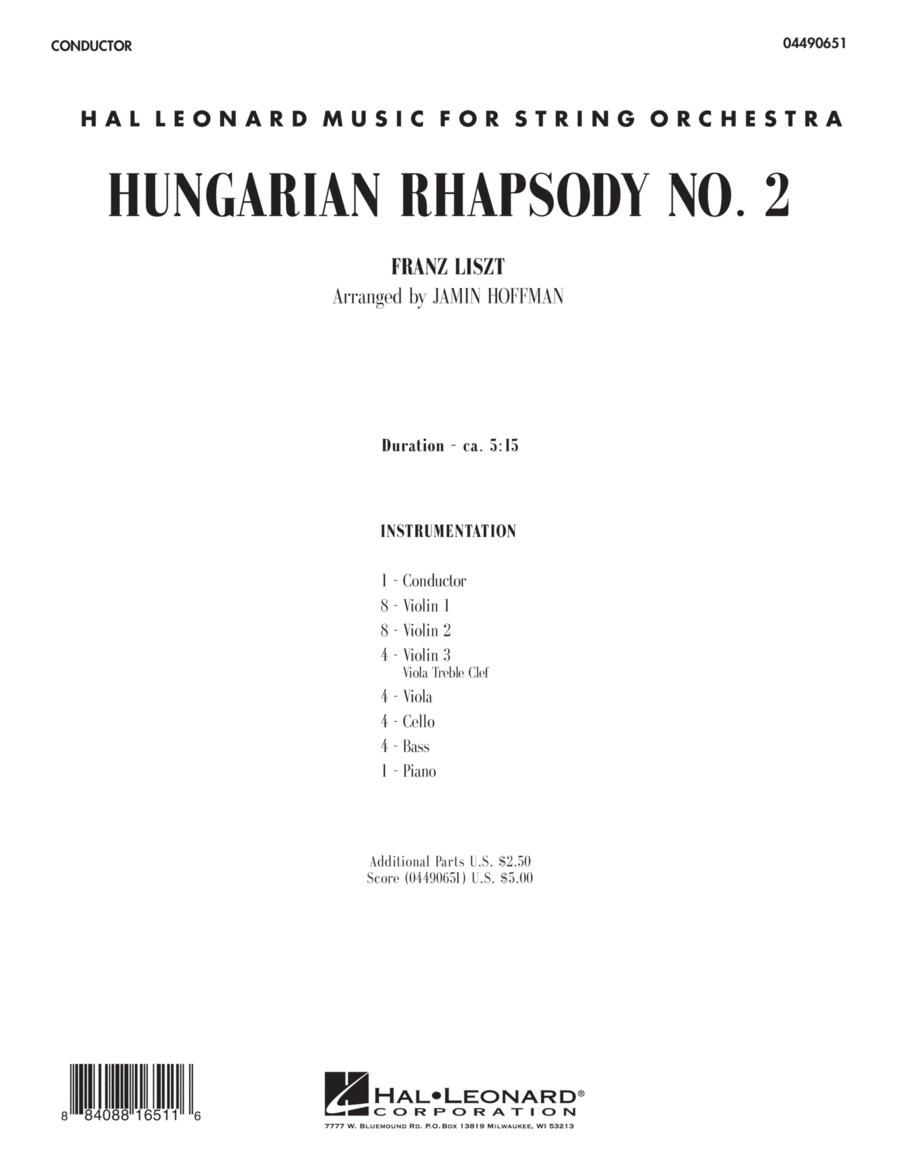 Hungarian Rhapsody No. 2 - Full Score