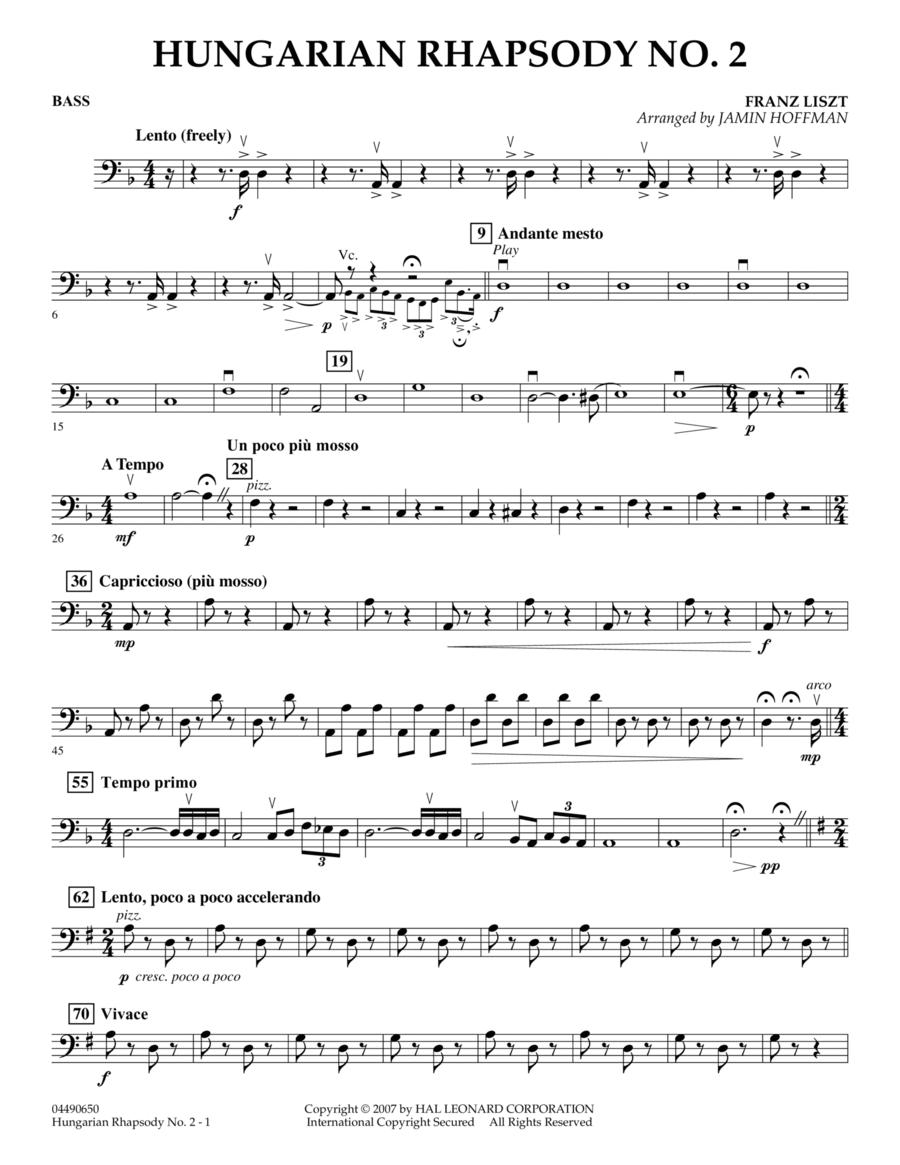 Hungarian Rhapsody No. 2 - Bass
