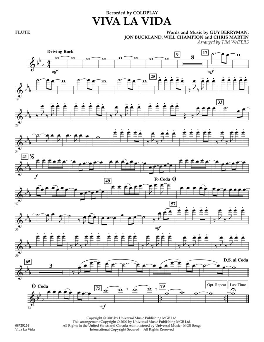 Viva La Vida - Flute