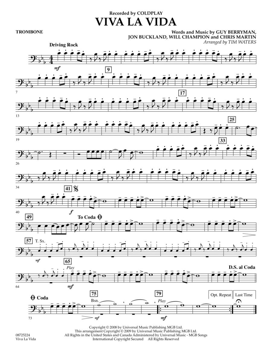 Viva La Vida - Trombone