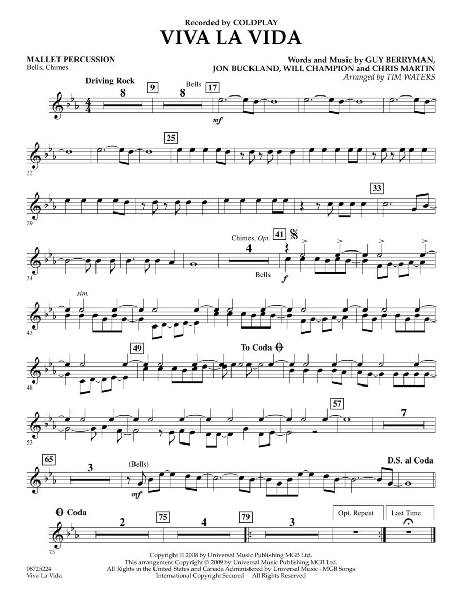 Viva La Vida - Mallet Percussion