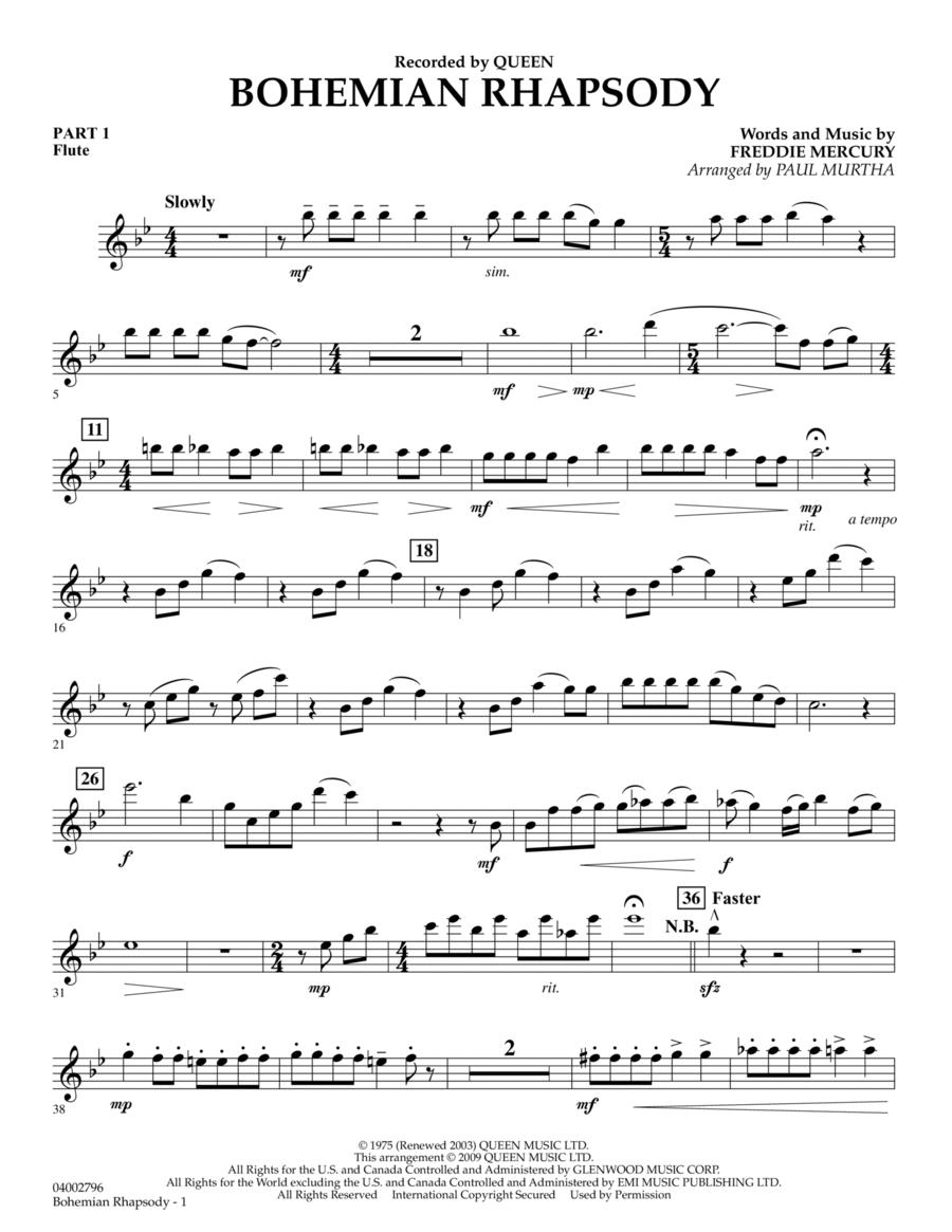 Bohemian Rhapsody - Pt.1 - Flute