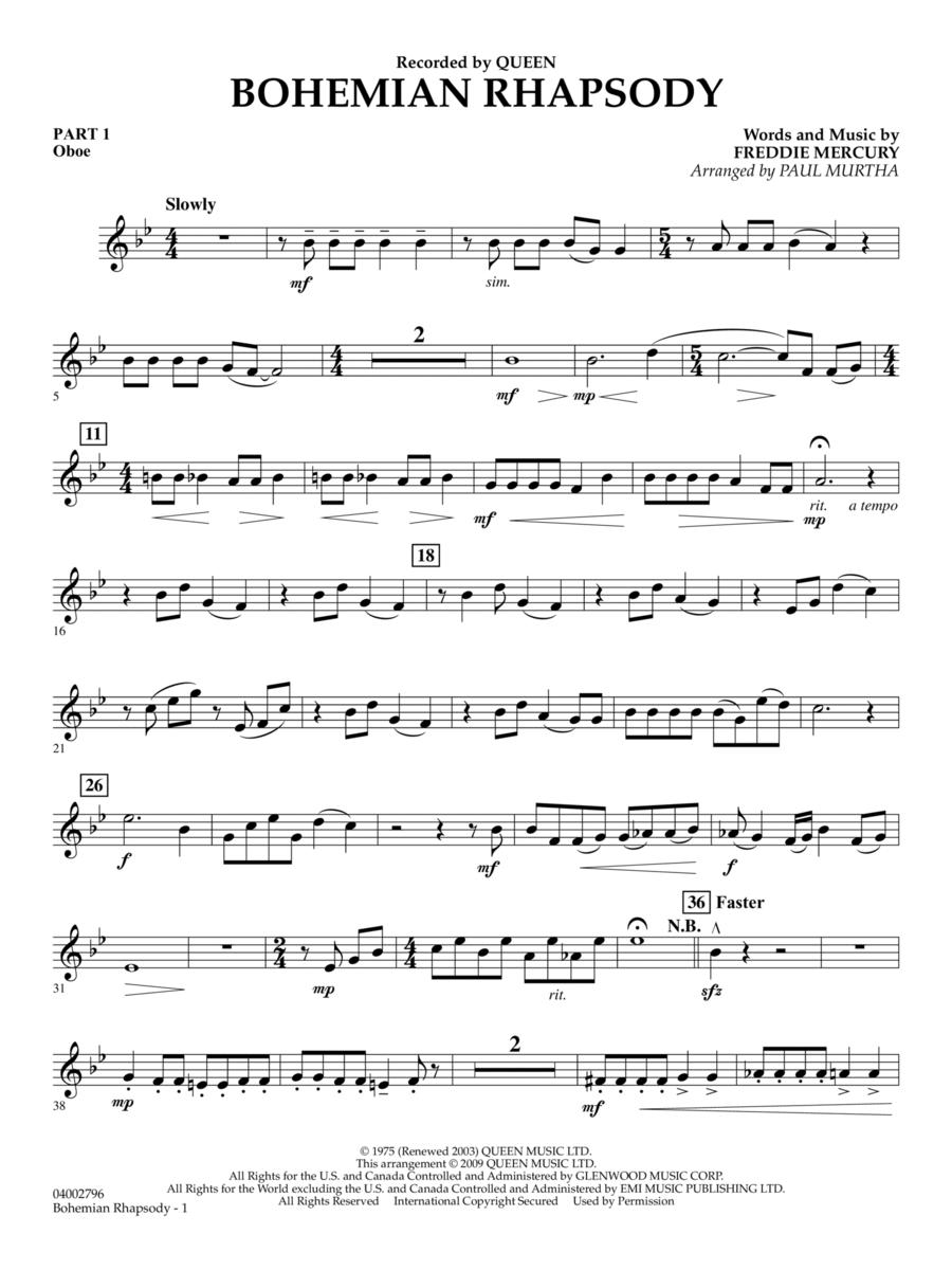 Bohemian Rhapsody - Pt.1 - Oboe