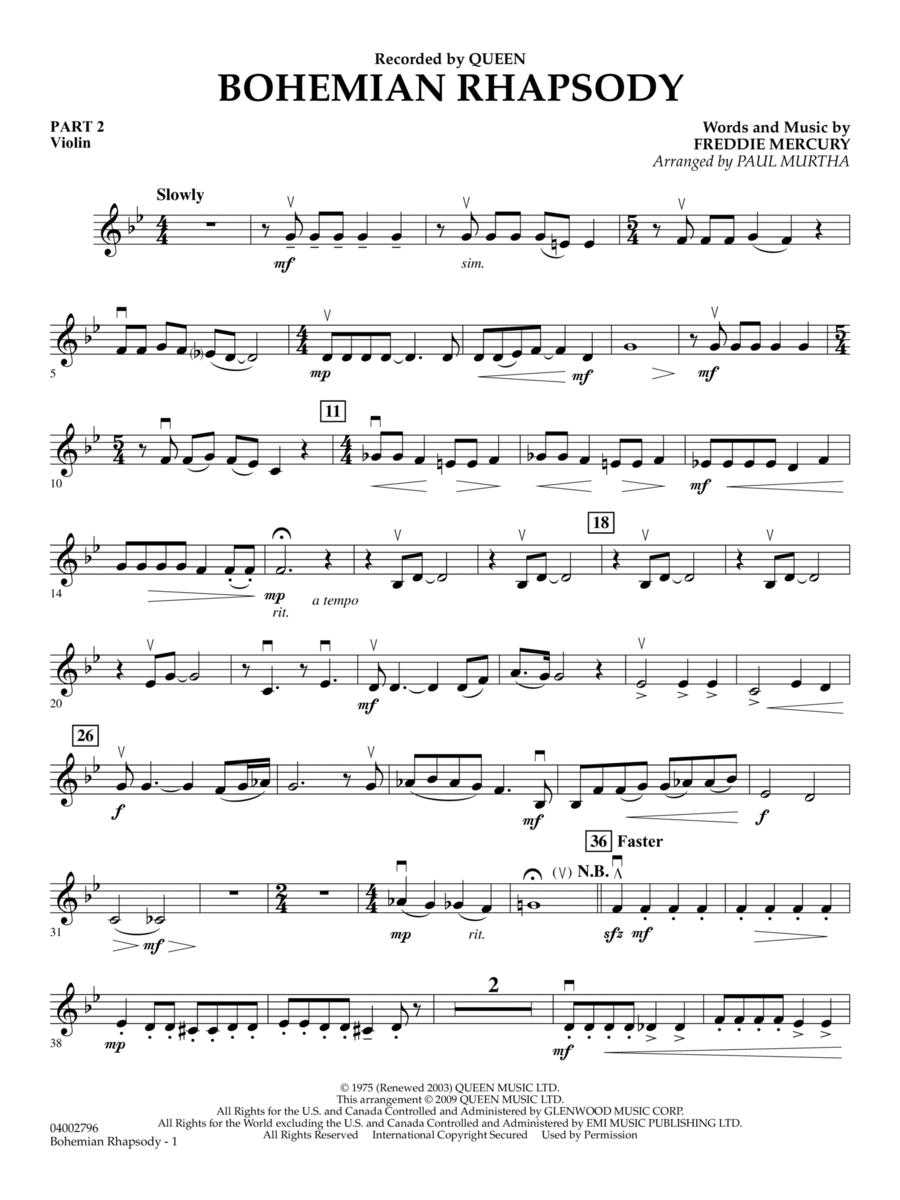 Bohemian Rhapsody - Pt.2 - Violin