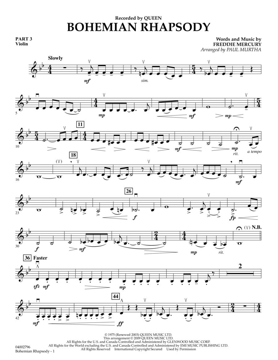 Bohemian Rhapsody - Pt.3 - Violin