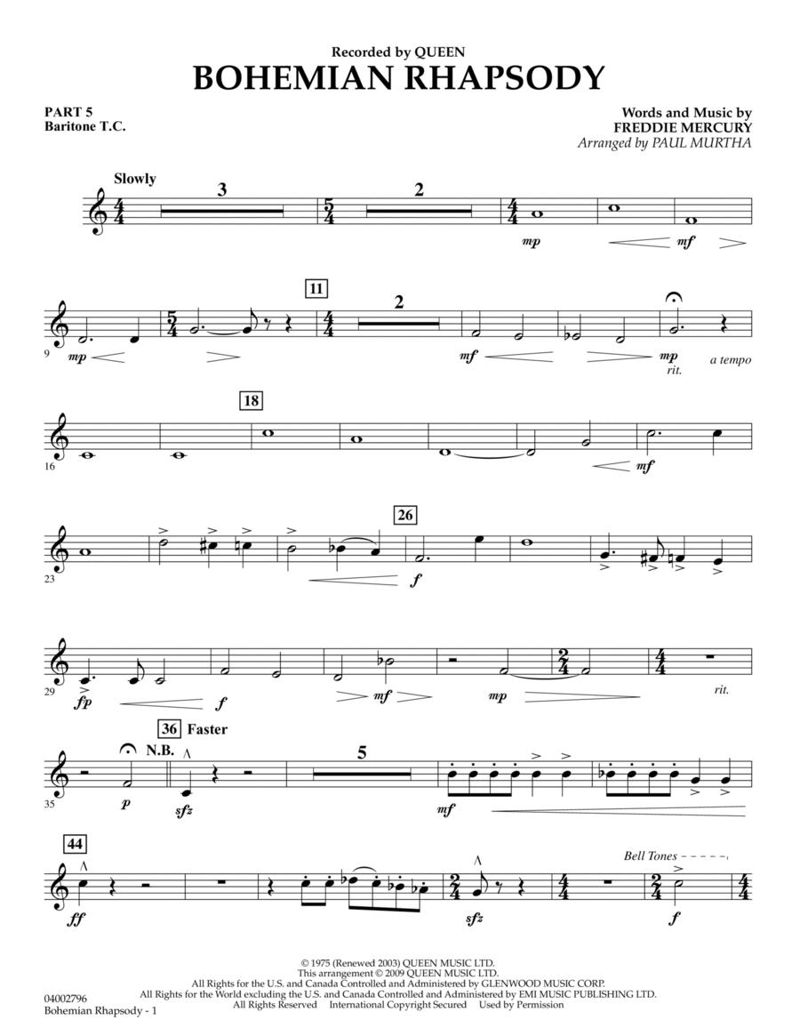 Bohemian Rhapsody - Pt.5 - Baritone T.C.