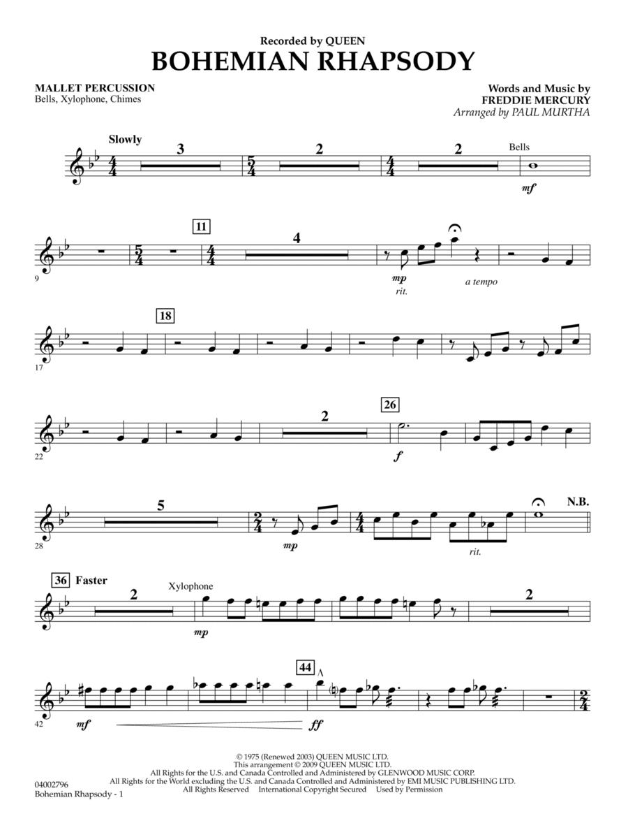 Bohemian Rhapsody - Mallet Percussion