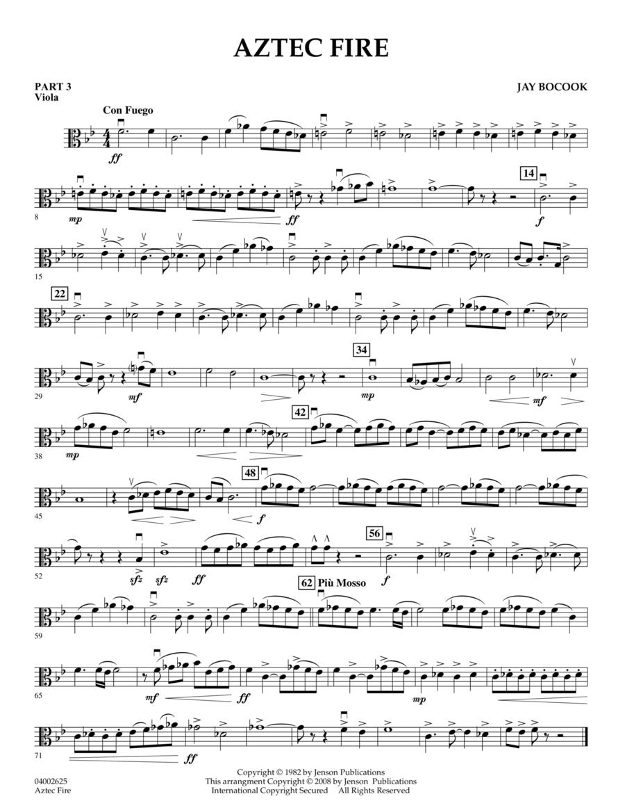 Aztec Fire - Pt.3 - Viola