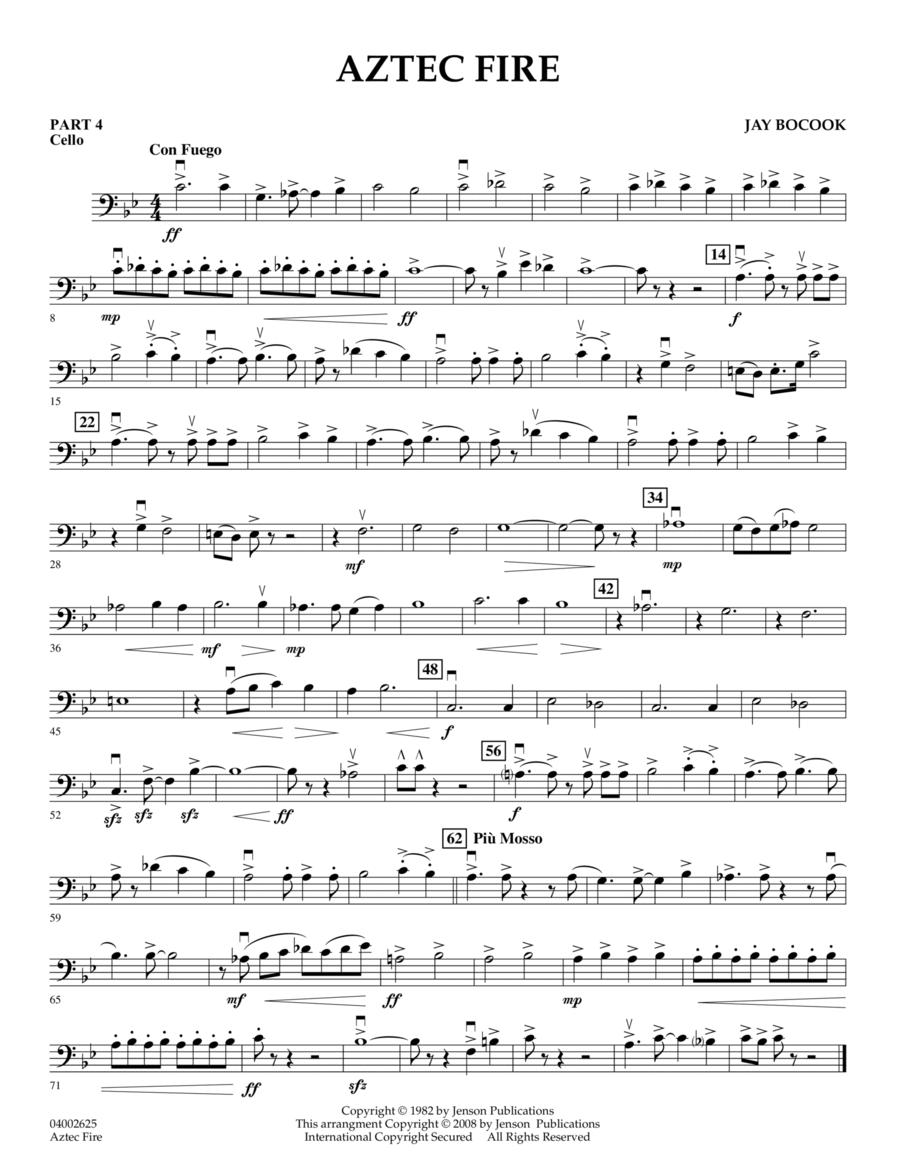 Aztec Fire - Pt.4 - Cello