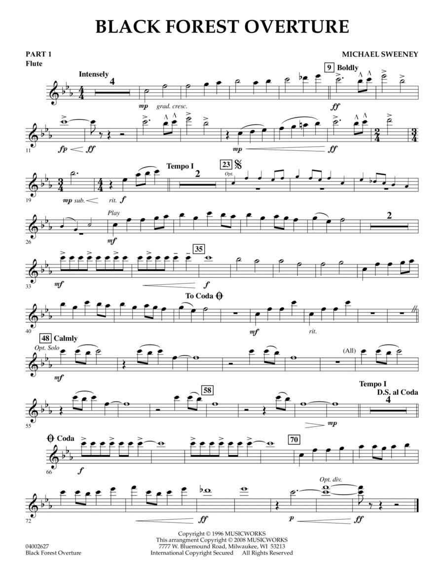 Black Forest Overture - Pt.1 - Flute