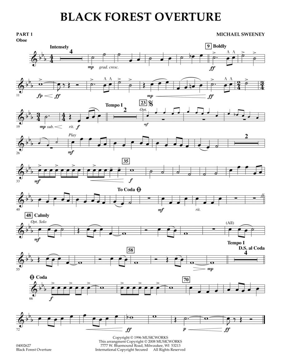 Black Forest Overture - Pt.1 - Oboe