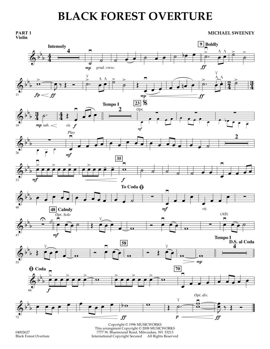 Black Forest Overture - Pt.1 - Violin