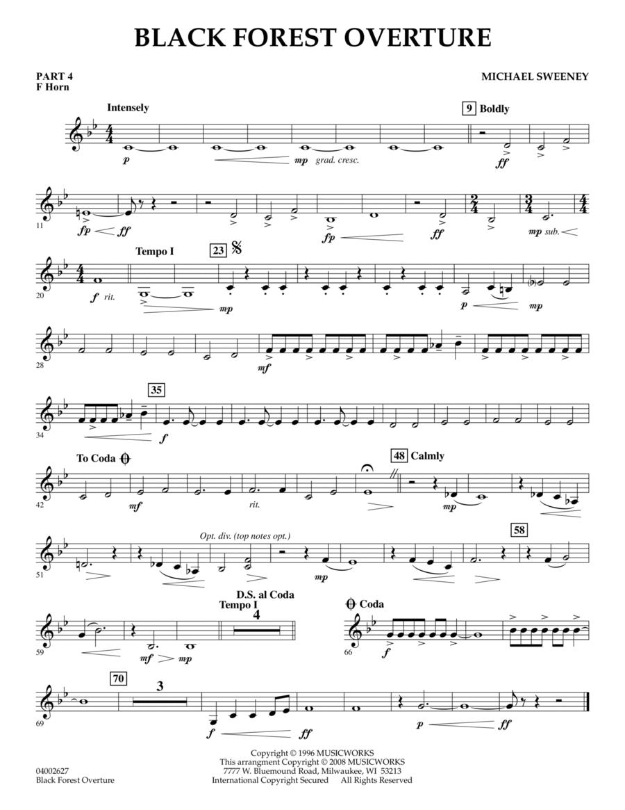 Black Forest Overture - Pt.4 - F Horn