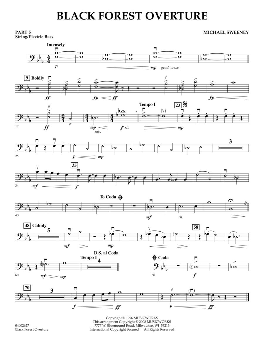 Black Forest Overture - Pt.5 - String/Electric Bass