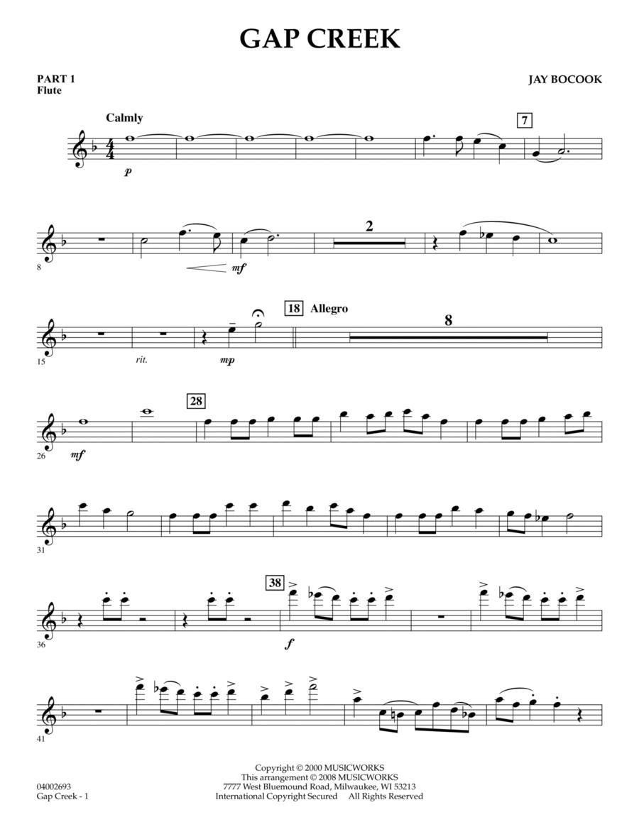 Gap Creek - Pt.1 - Flute