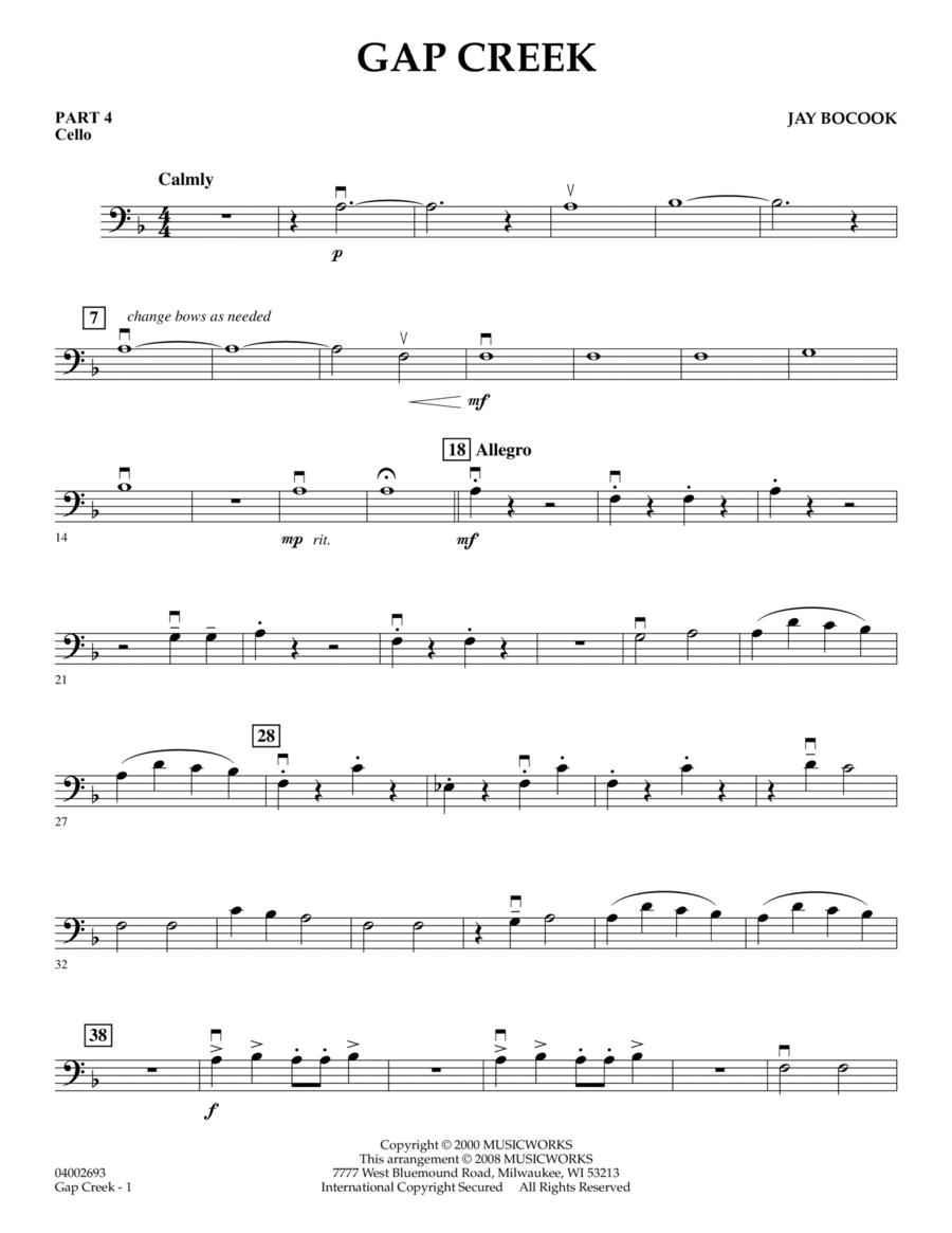 Gap Creek - Pt.4 - Cello