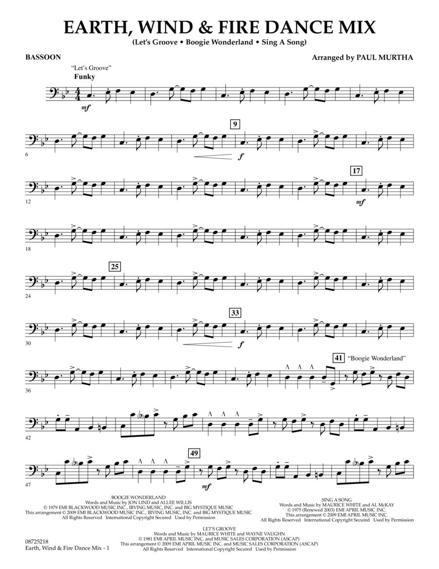 Earth, Wind & Fire Dance Mix - Bassoon