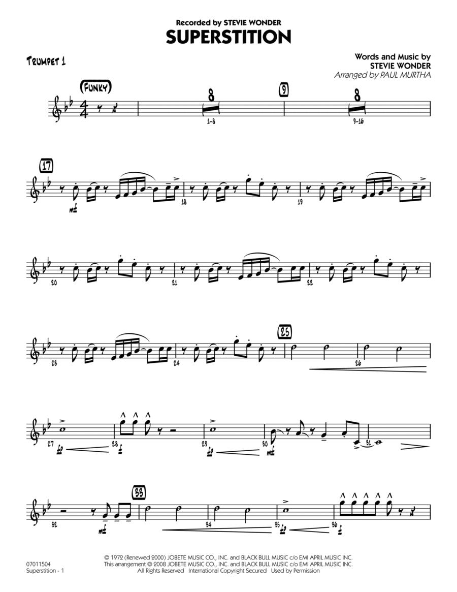 Superstition - Trumpet 1