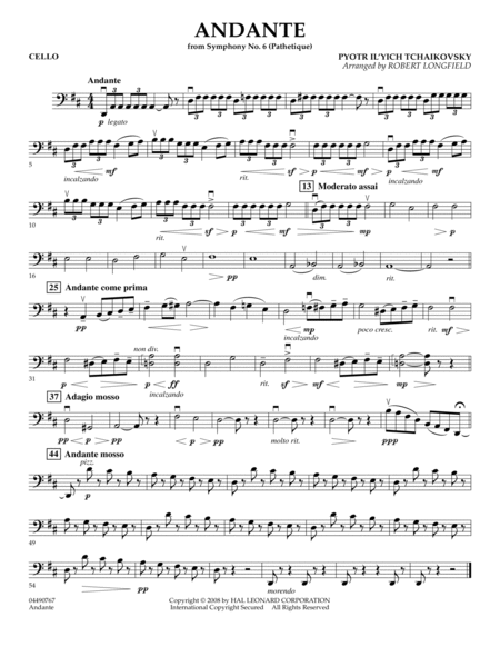 Andante (from Symphony No.6