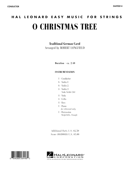 O Christmas Tree - Full Score