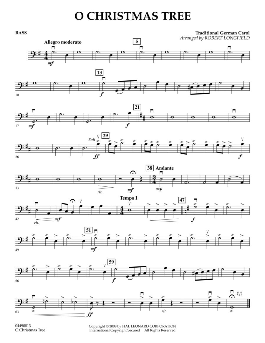 O Christmas Tree - Bass