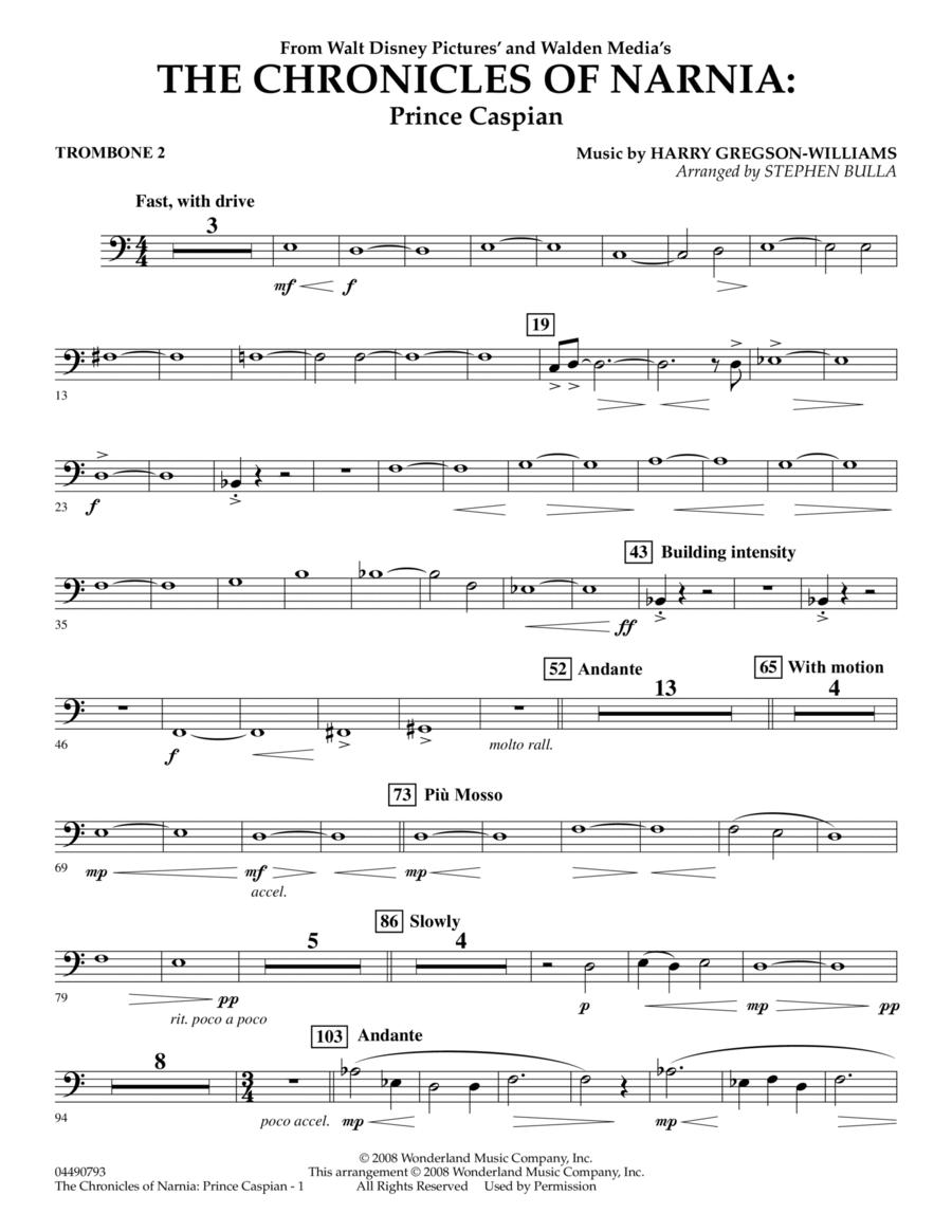 The Chronicles of Narnia: Prince Caspian - Trombone 2