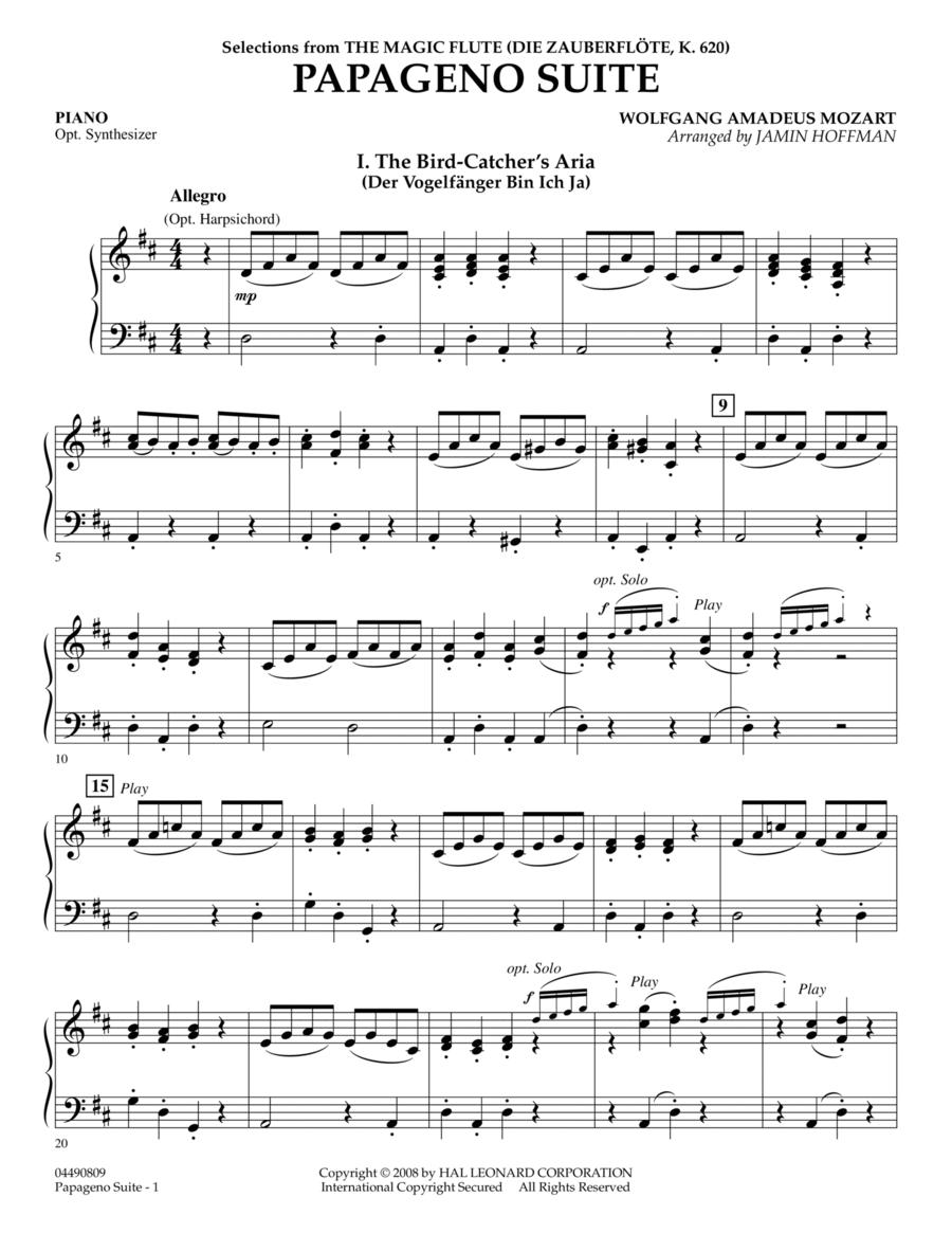 Papageno Suite - Piano