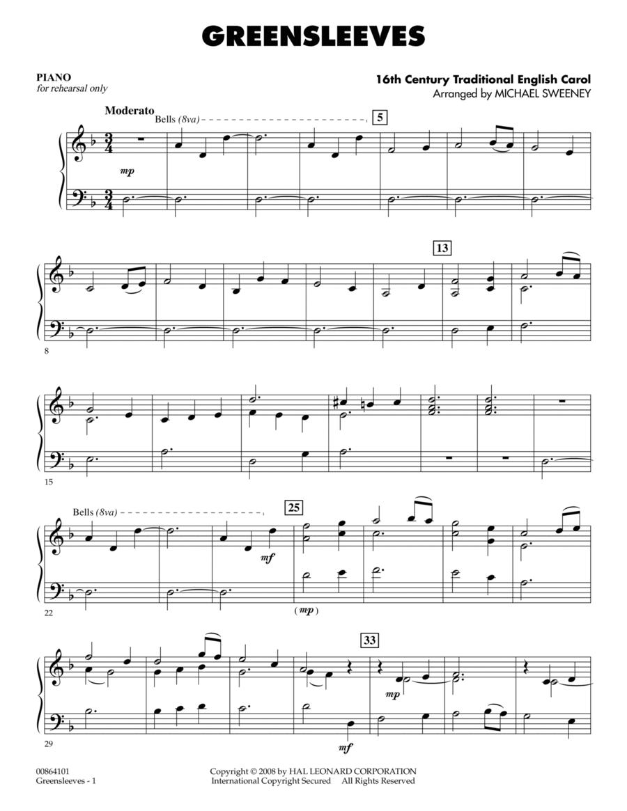 Greensleeves - Piano