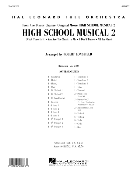 High School Musical 2 - Full Score