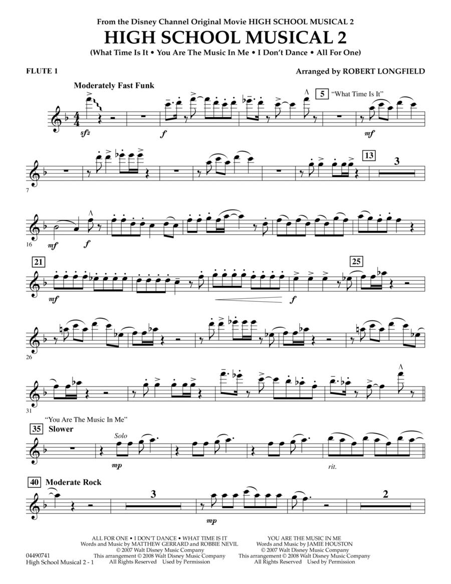 High School Musical 2 - Flute 1