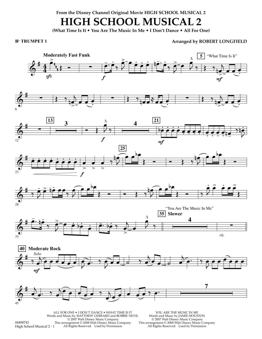High School Musical 2 - Bb Trumpet 1