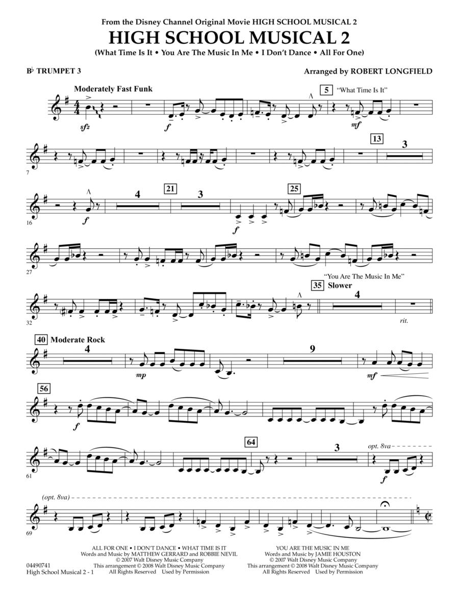 High School Musical 2 - Bb Trumpet 3