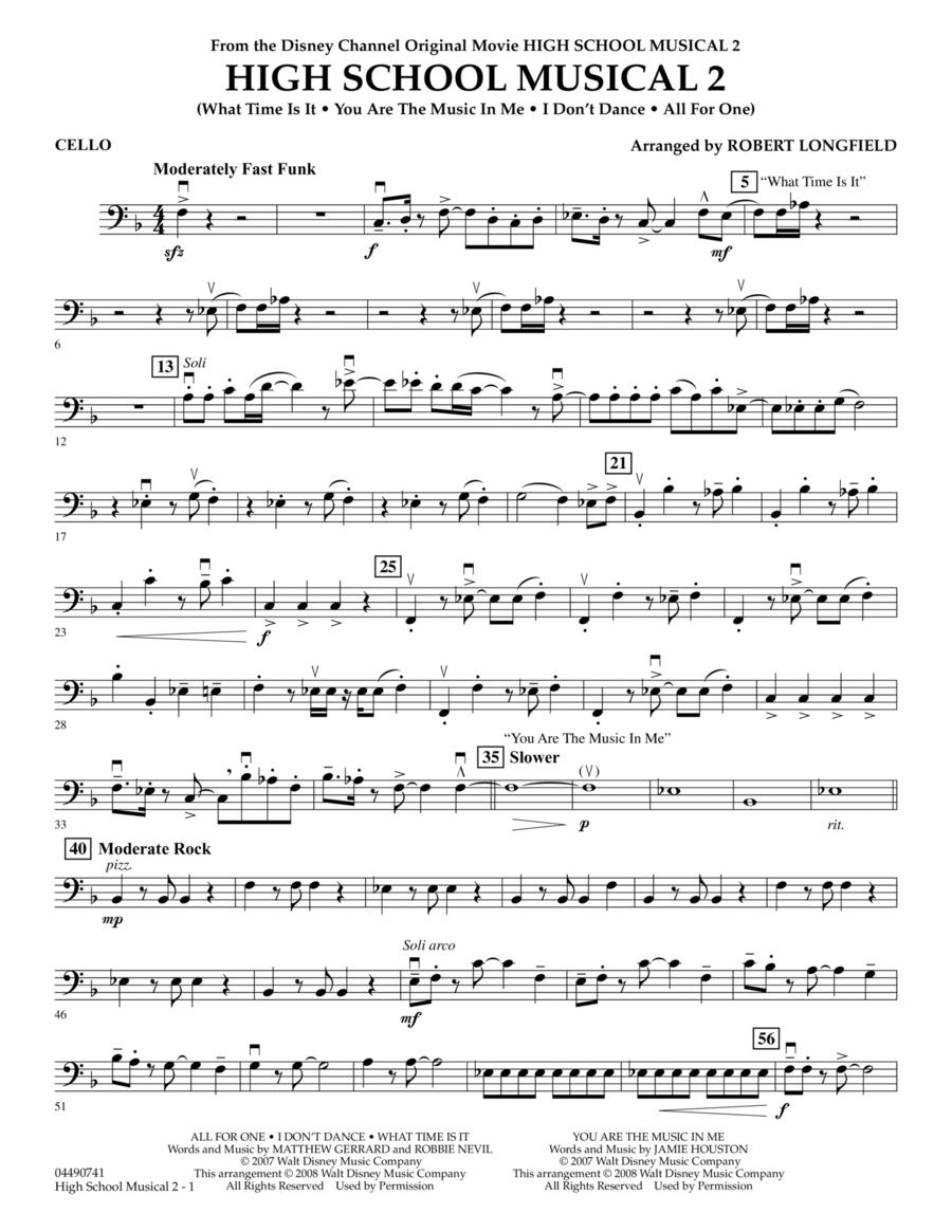 High School Musical 2 - Cello