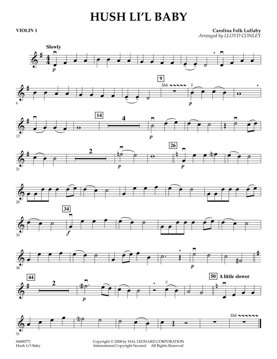 Hush Li'l Baby - Violin 1
