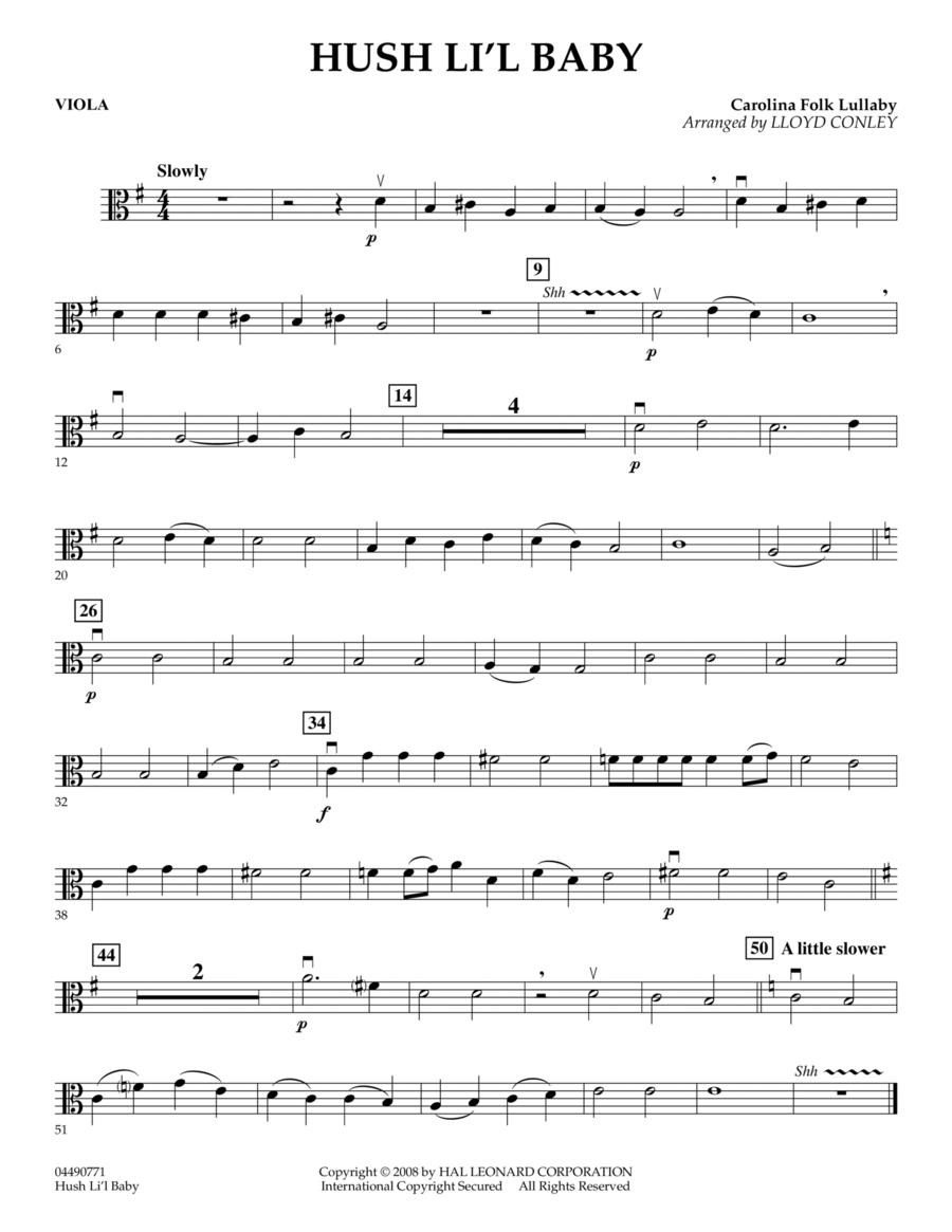 Hush Li'l Baby - Viola