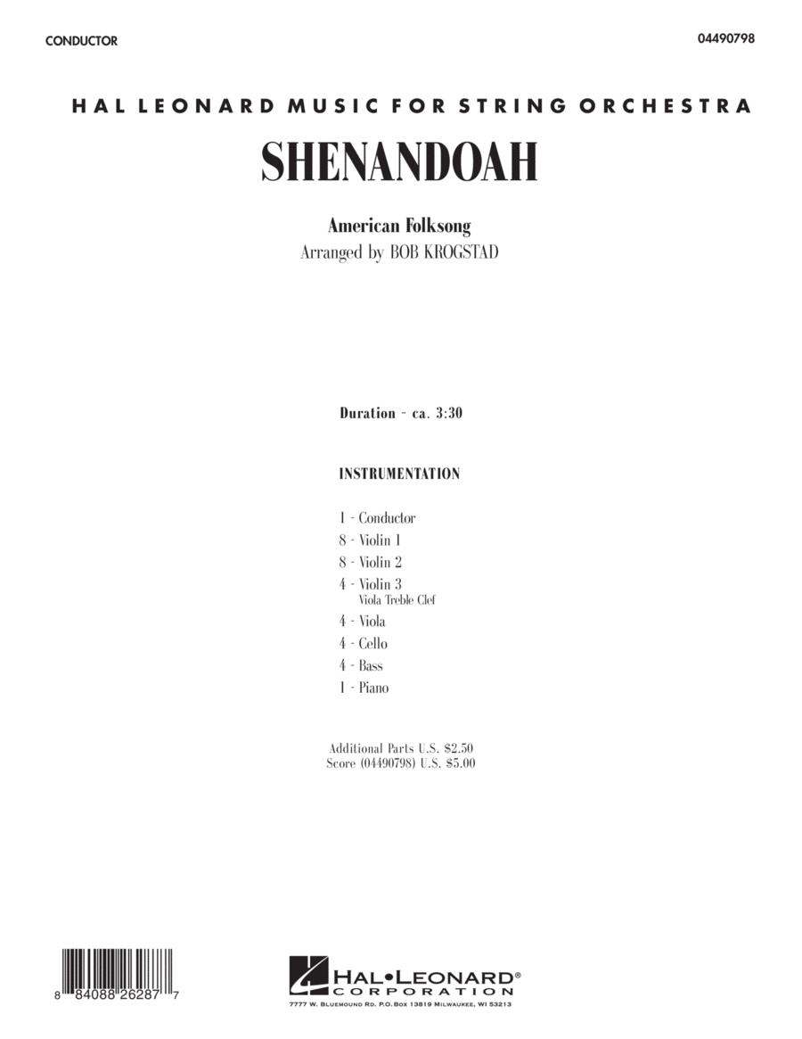 Shenandoah - Full Score