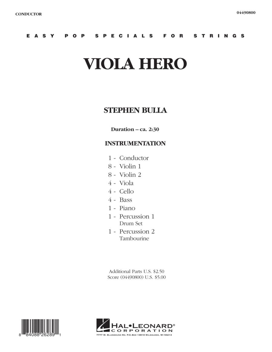 Viola Hero - Full Score