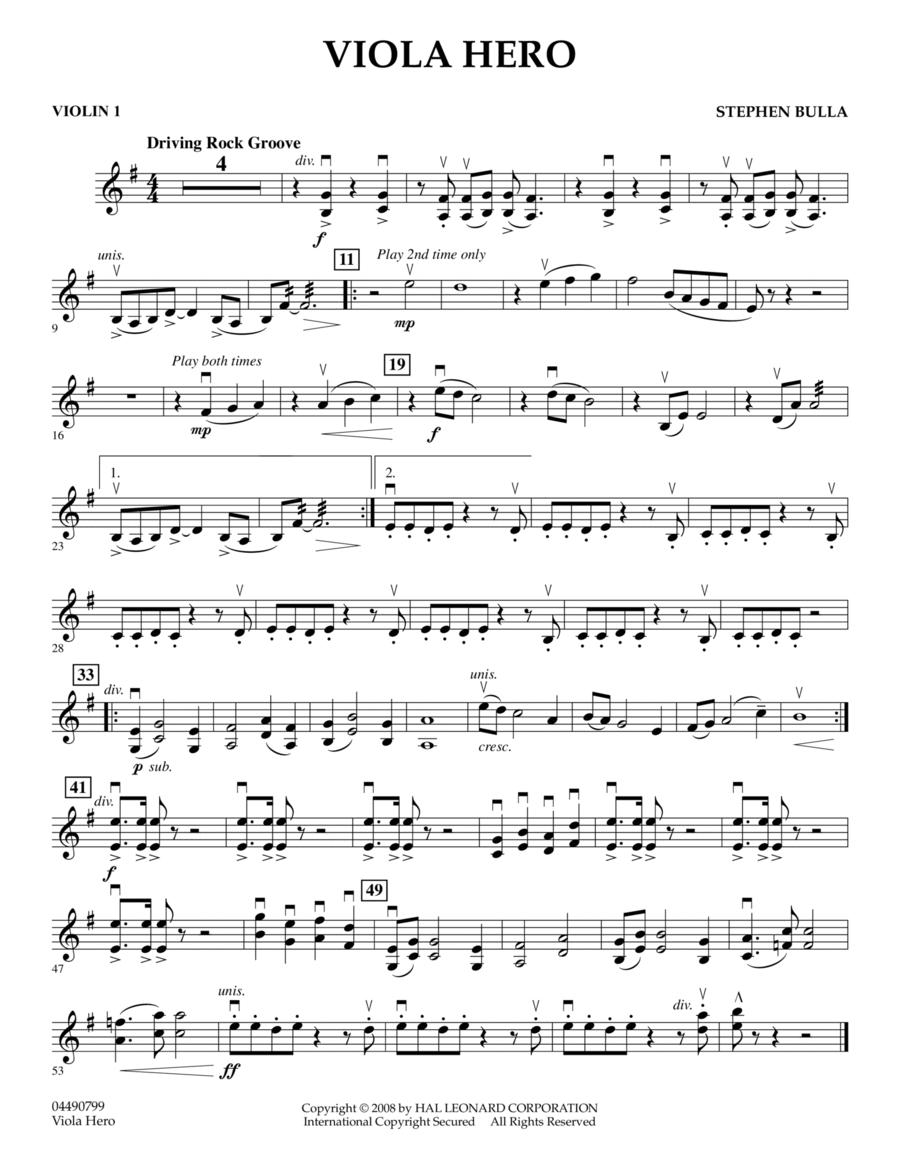 Viola Hero - Violin 1