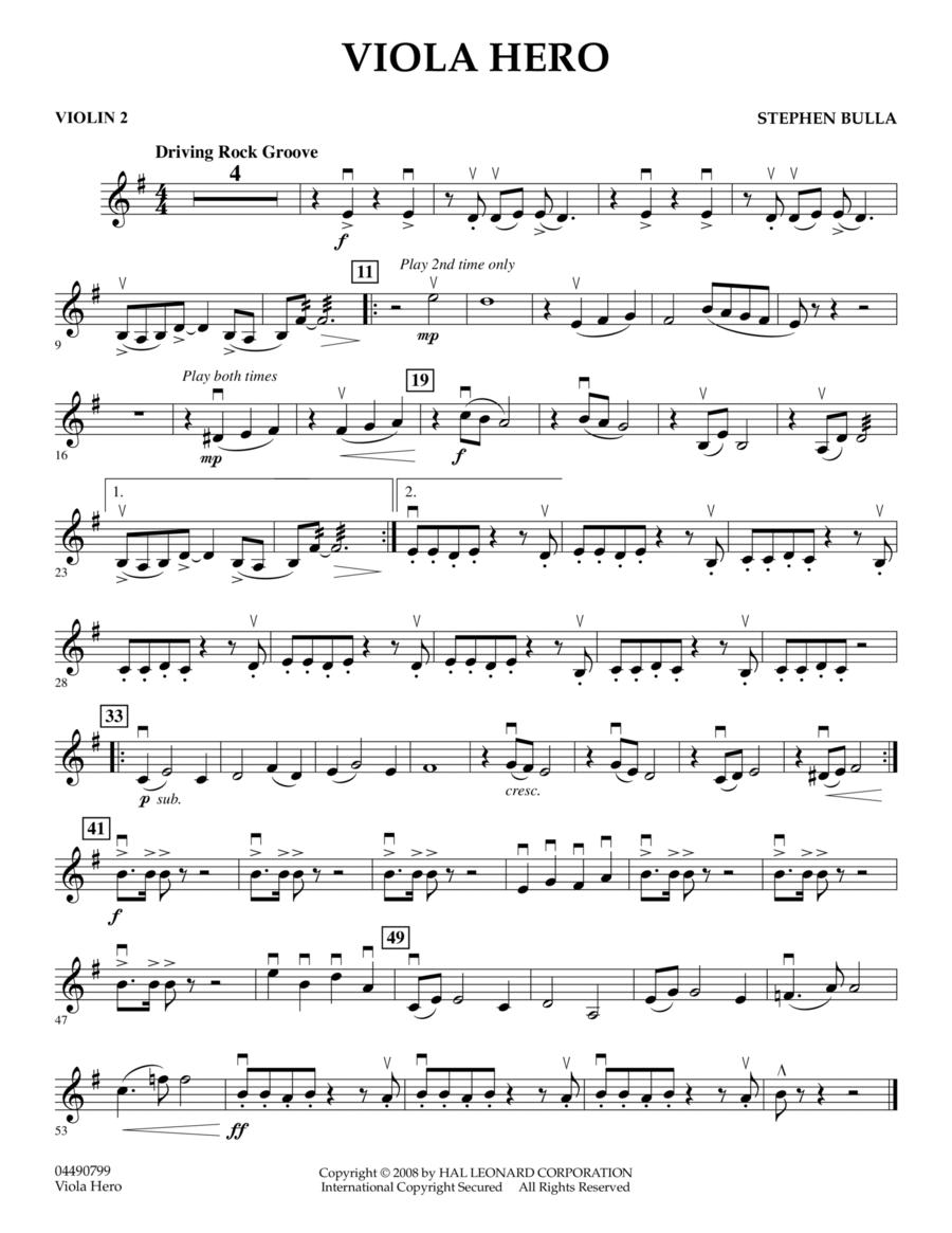 Viola Hero - Violin 2