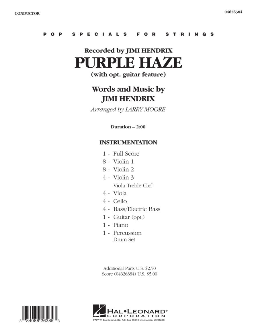 Purple Haze - Full Score