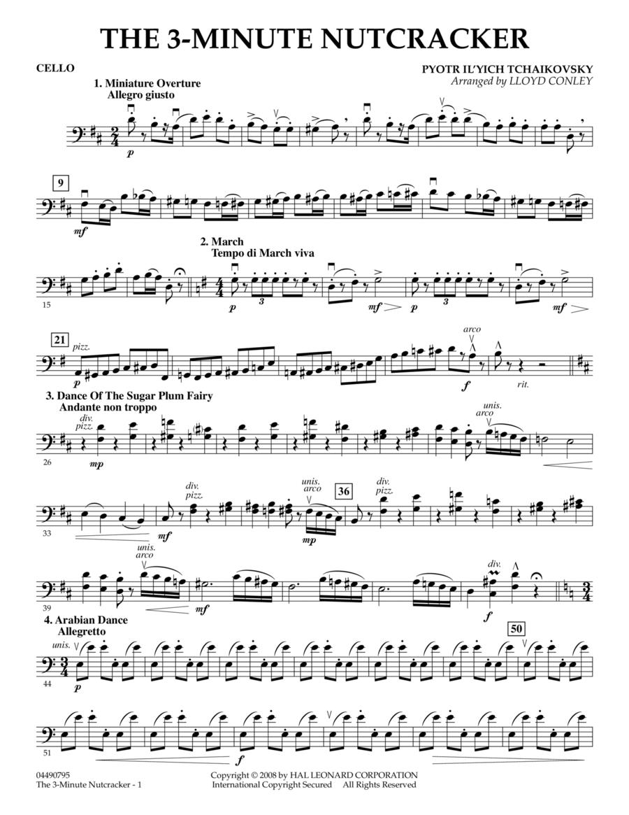 The 3-Minute Nutcracker - Cello