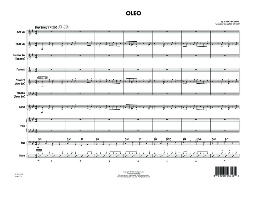 Oleo - Conductor Score (Full Score)