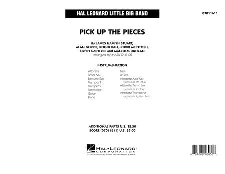 Pick up the Pieces - Full Score