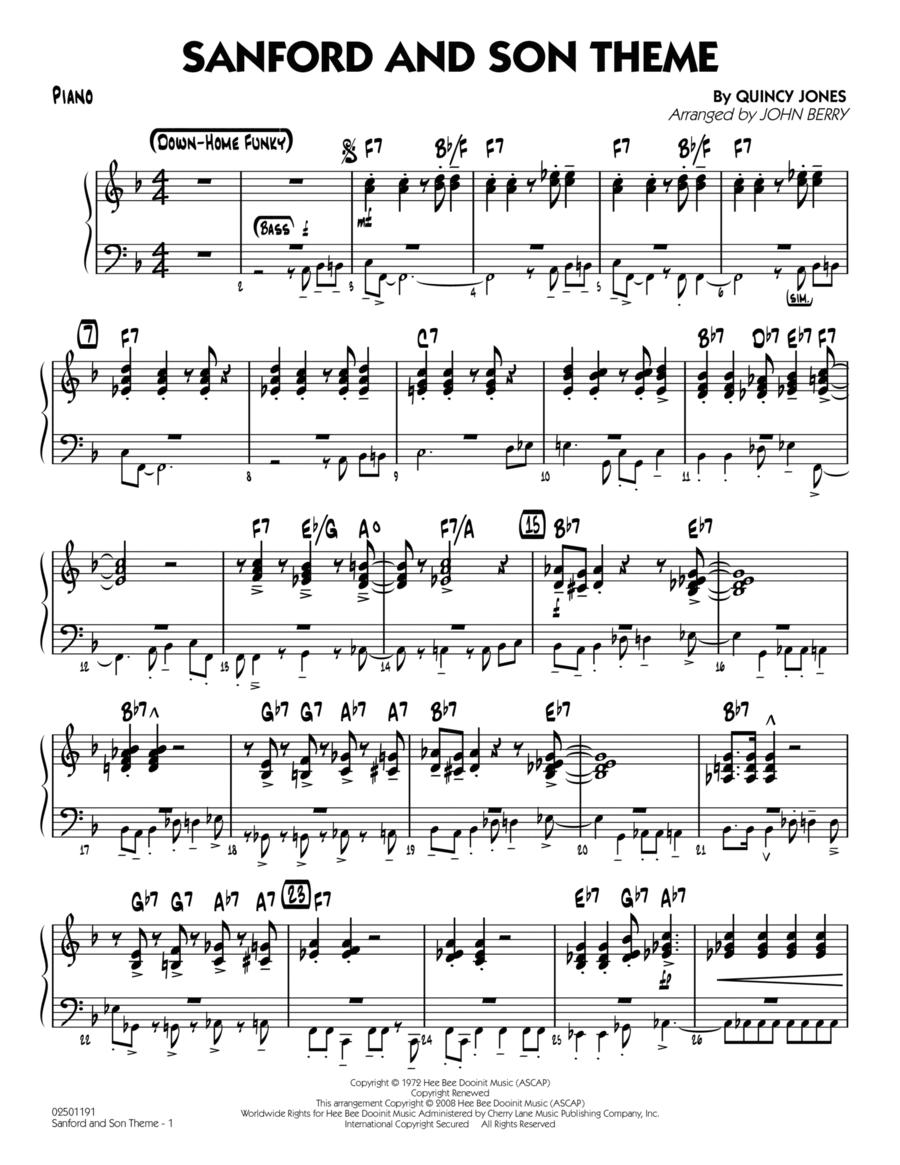 Sanford and Son Theme - Piano