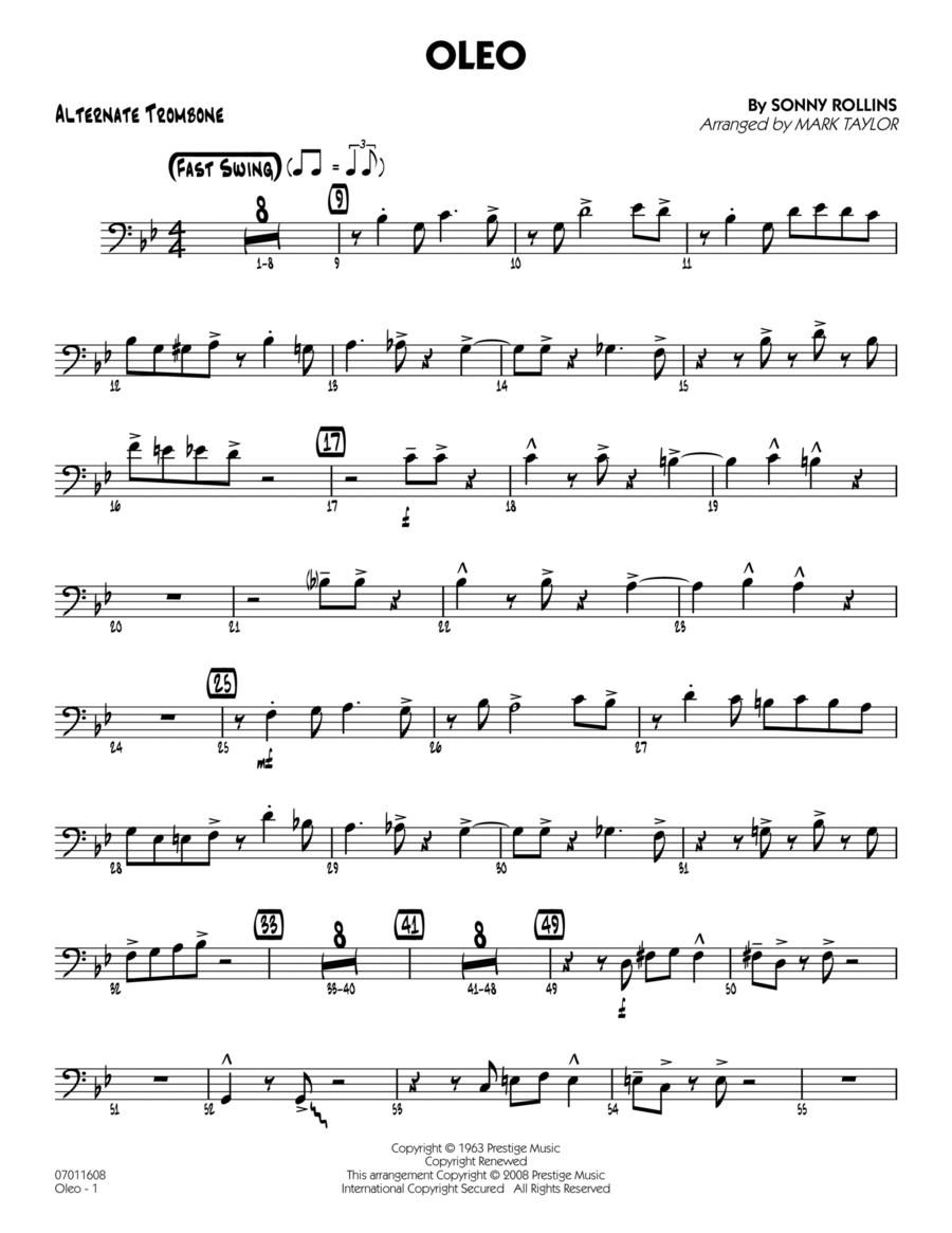 Oleo - Alternate Trombone