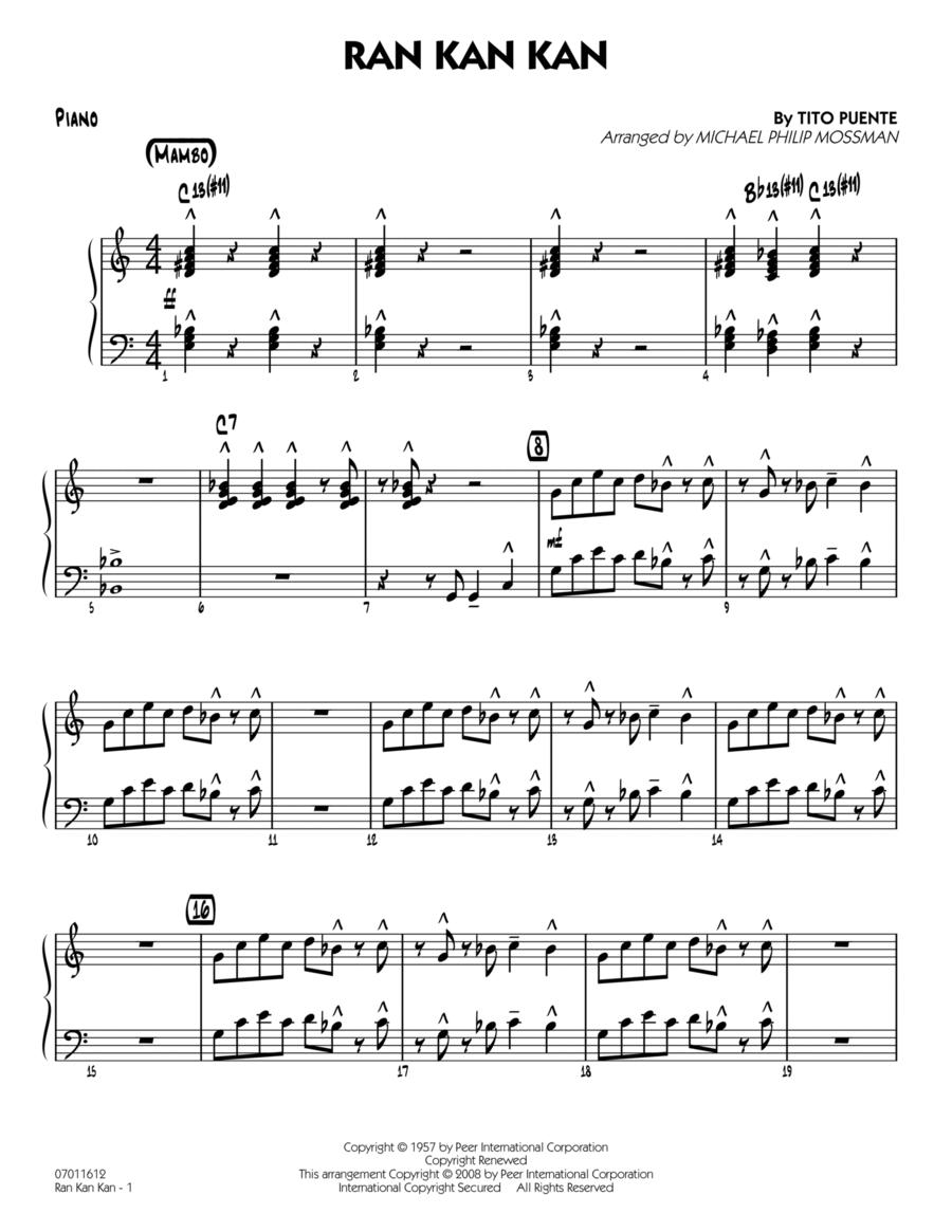 Ran Kan Kan - Piano