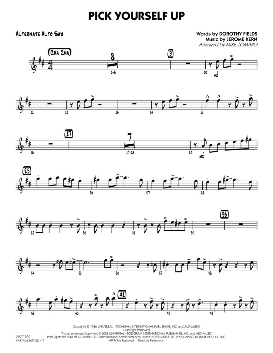 Pick Yourself Up - Alternate Alto Sax
